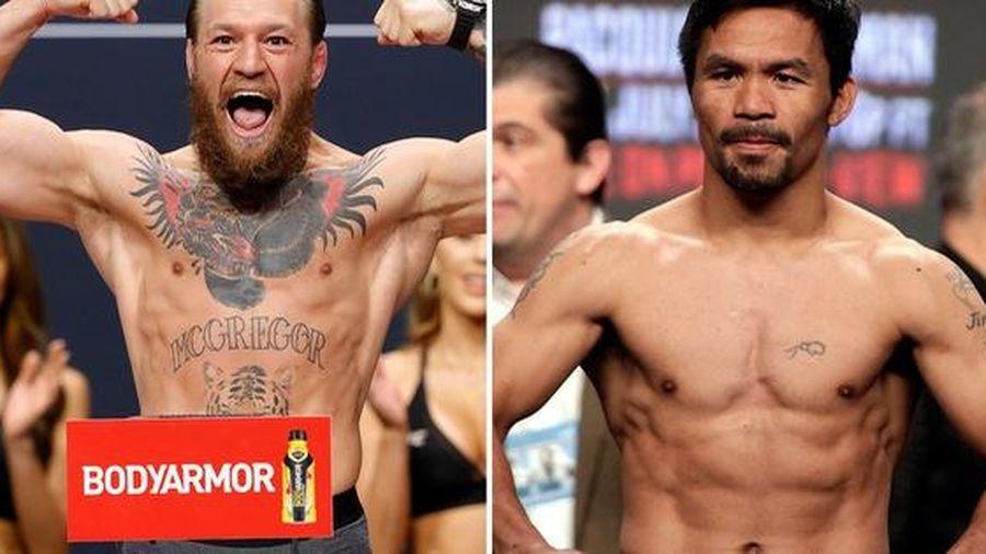 Conor McGregor tuyên bố sẽ chạm trán cùng huyền thoại Manny Pacquiao trong lần thượng đài sắp tới
