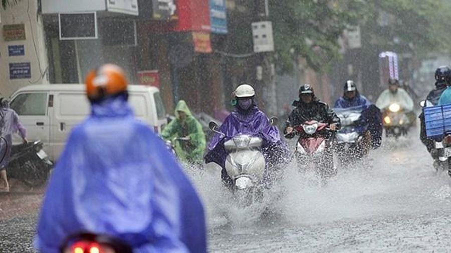 Chiều nay, Bắc Bộ mưa to, có nguy cơ lũ quét, sạt lở đất