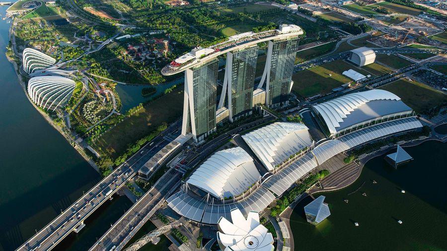 Khu vịnh của giới thượng lưu ở Singapore