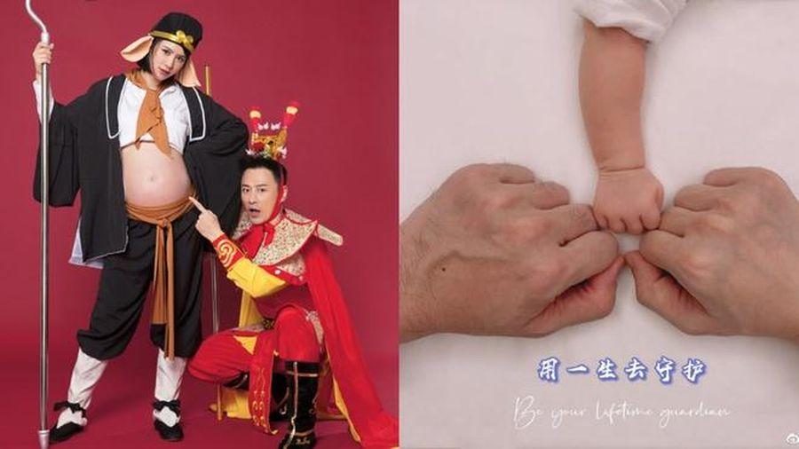 Lâm Phong có con đầu lòng ở tuổi 41