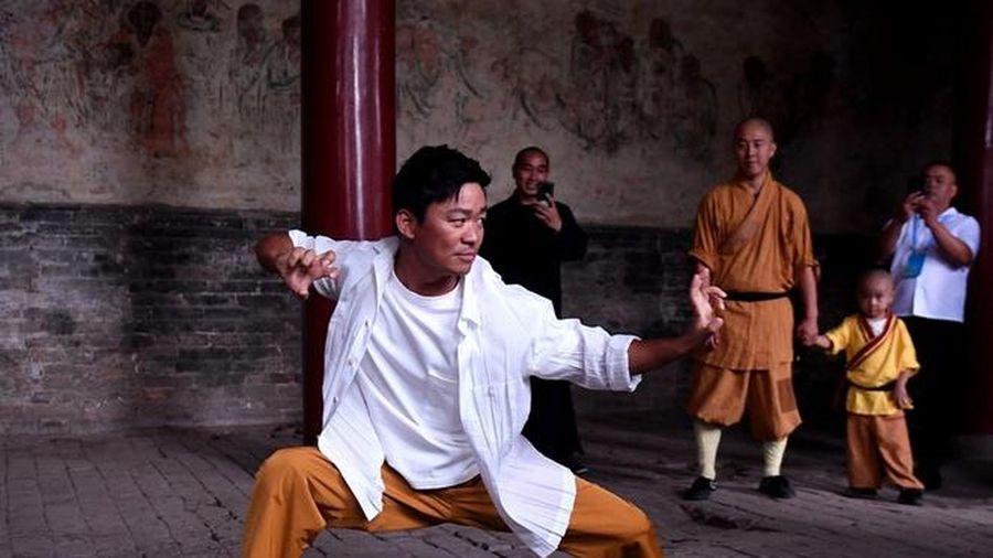 Vương Bảo Cường trở lại thăm Thiếu Lâm Tự