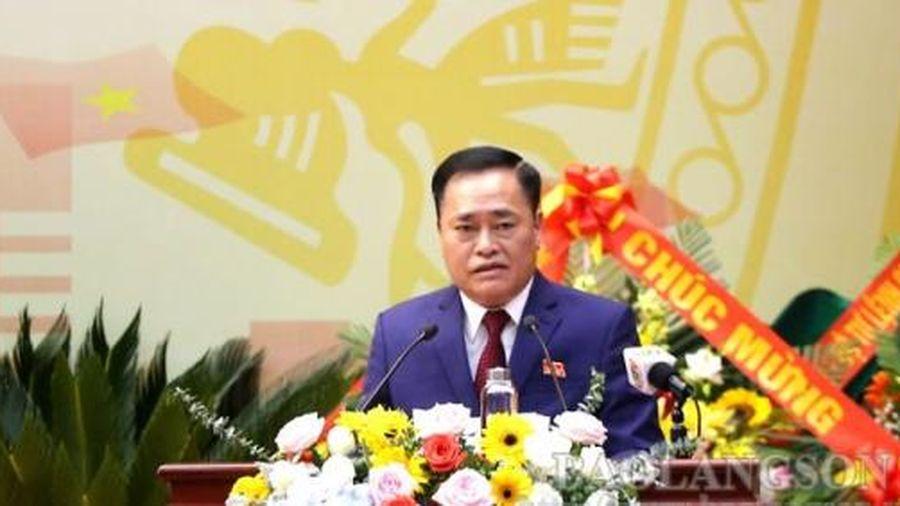 Ra mắt Ban Chấp hành Đảng bộ tỉnh Lạng Sơn khóa XVII