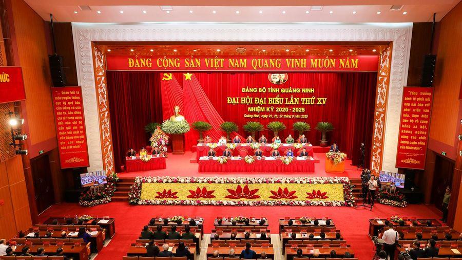 Khai mạc Đại hội Đảng bộ tỉnh Quảng Ninh