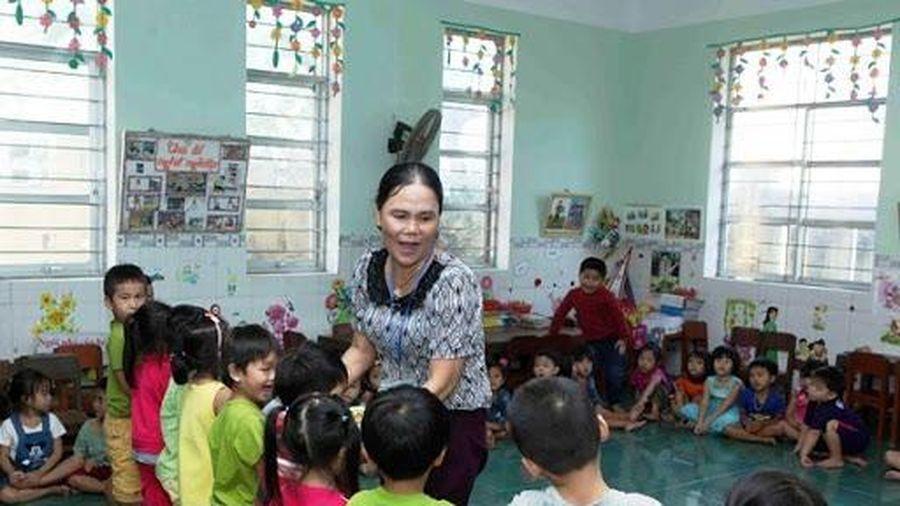 Chế độ chính sách cho giáo viên mầm non