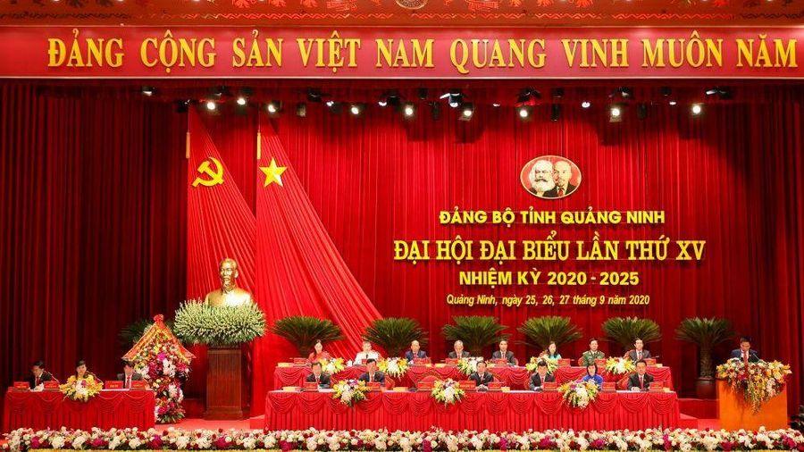 Khai mạc Đại hội Đại biểu Đảng bộ tỉnh Quảng Ninh lần thứ XV