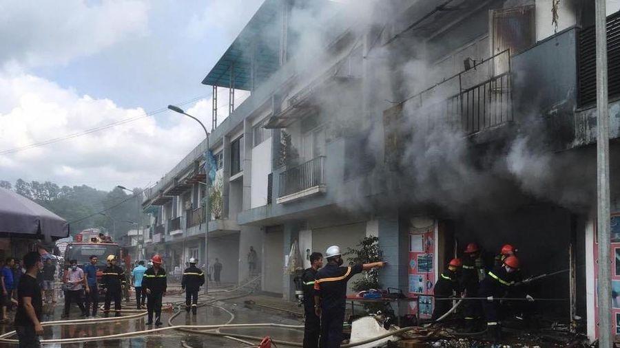 Lạng Sơn: Cháy ki- ốt trung tâm thương mại Đồng Đăng