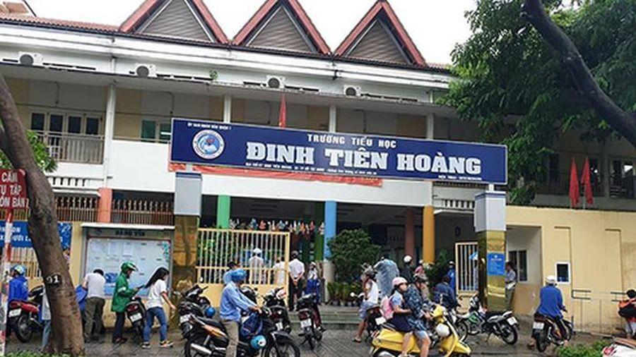Phụ huynh tiểu học Đinh Tiên Hoàng bức xúc cách thu tiền quỹ phụ huynh đầu năm