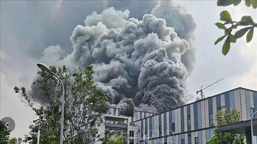 Ba người thiệt mạng trong vụ hỏa hoạn tại cơ sở nghiên cứu của Huawei, Trung Quốc