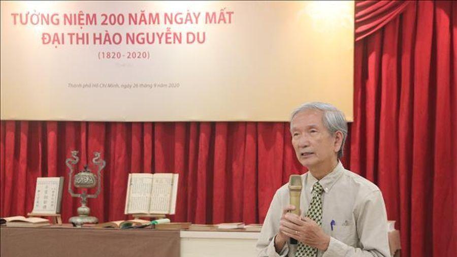 Tọa đàm Tưởng niệm 200 năm ngày mất Đại thi hào Nguyễn Du tại Thành phố Hồ Chí Minh