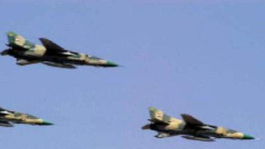 Chiến đấu cơ Nga 'dội' hỏa lực, tiêu diệt các hang ổ của khủng bố IS ở Syria