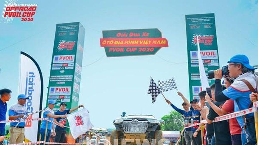 Khai mạc giải đua xe ô tô địa hình Việt Nam PVOIL CUP 2020