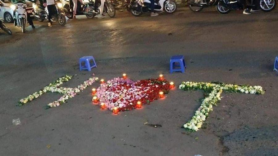 Tỏ tình bằng nến và hoa giữa đường nhưng bị từ chối, thanh niên nổi nóng hù dọa: 'Em nghĩ trốn được anh á?'