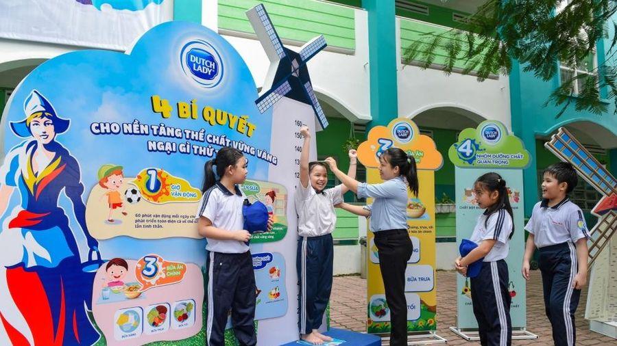 Sữa Cô Gái Hà Lan dành 50 tỷ đồng để nâng chiều cao cho học sinh Việt Nam