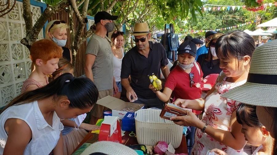 Quảng Nam: Độc đáo phiên chợ làng chài Tân Thành - Hội An
