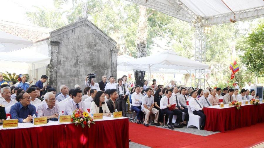 Hà Tĩnh: Lễ giỗ Đại thi hào Nguyễn Du