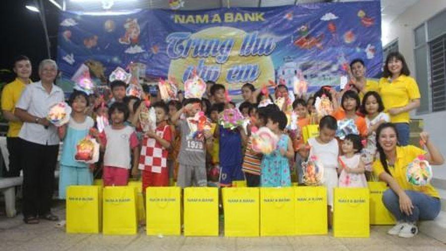 Nam A Bank tổ chức trung thu cho trẻ em tại Cơ sở bảo trợ xã hội Thiên Ân