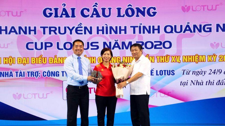 Khai mạc giải Giải cầu lông phát thanh truyền hình- Cup Lotus năm 2020