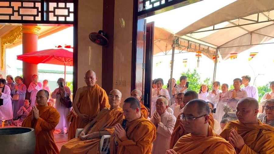 Phú Yên : Lễ lạc thành tịnh xá Ngọc Phú