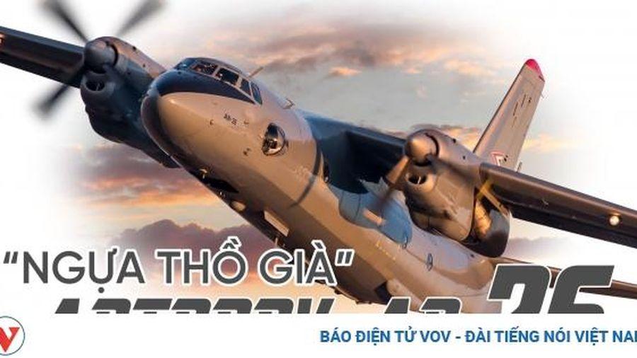 'Ngựa thồ già' An-26 máy bay vận tải vừa bị tai nạn ở Ucraina