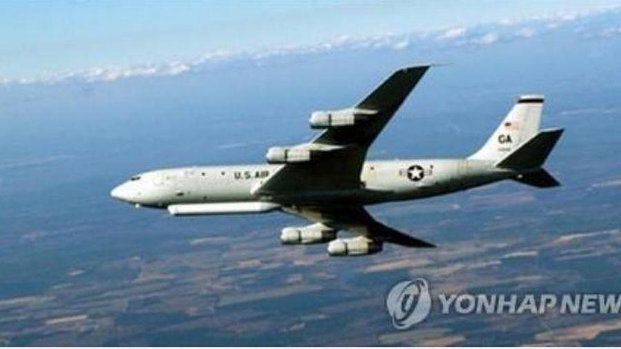 Trinh sát cơ Mỹ quần thảo bầu trời Hàn Quốc sau vụ quan chức Seoul bị bắn chết