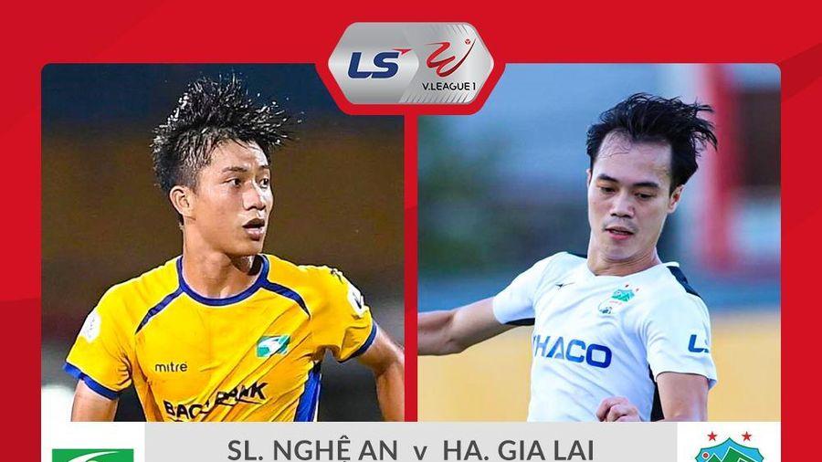 Trực tiếp SLNA vs HAGL vòng 12 V-League 2020