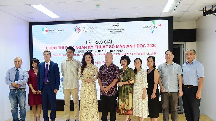 Trao giải Cuộc thi Phim ngắn kỹ thuật số màn ảnh dọc 2020 với chủ đề bảo vệ môi trường