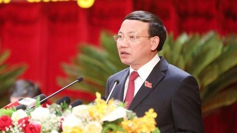 Ông Nguyễn Xuân Ký được bầu làm Bí thư Tỉnh ủy Quảng Ninh với 100% số phiếu