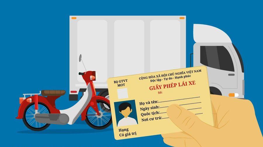Quy định về bằng lái xe theo dự thảo luật mới