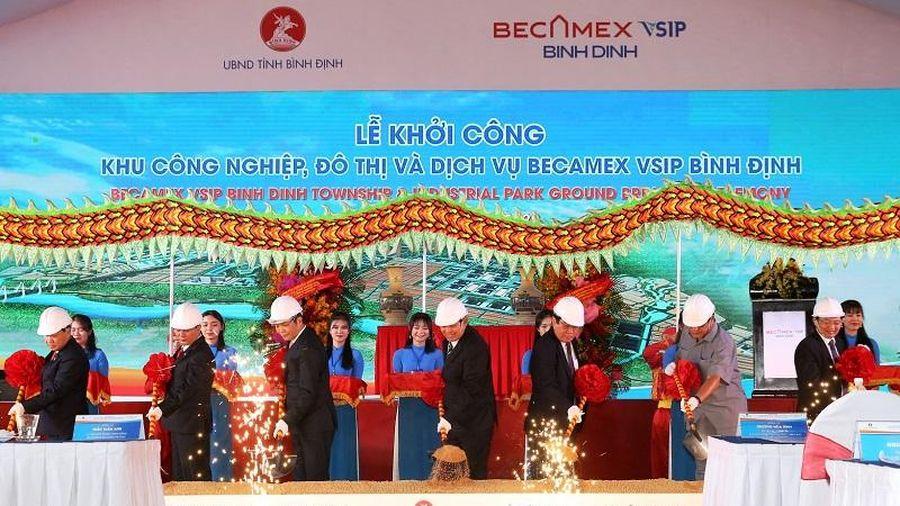 Bình Định: Khởi công khu công nghiệp, đô thị và dịch vụ có diện tích 1.425ha