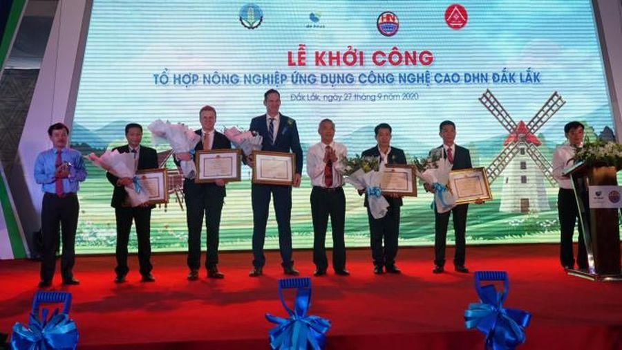 Tập đoàn De Heus và Hùng Nhơn khởi công tổ hợp giống chăn nuôi khổng lồ