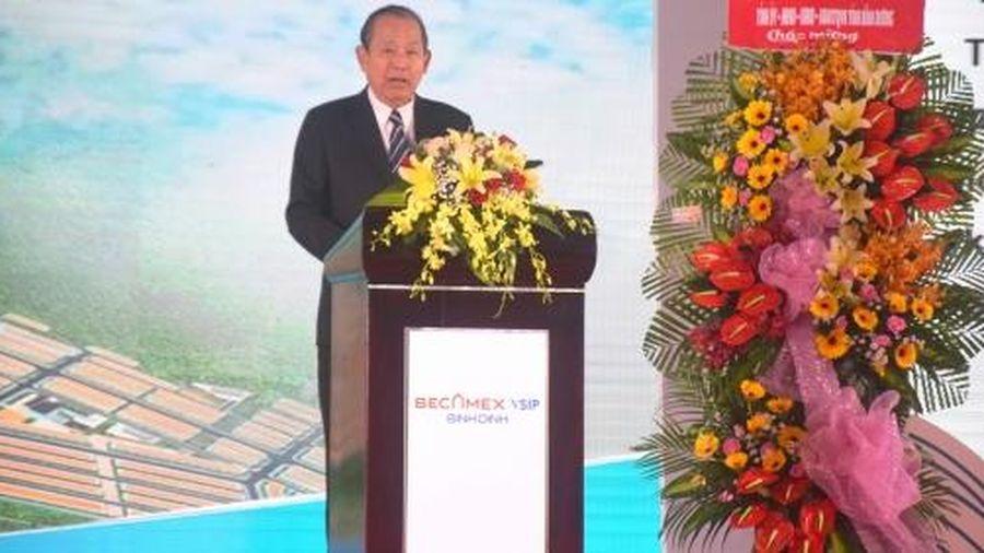 Bình Định: Khởi công dự án hơn 3.300 tỷ đồng