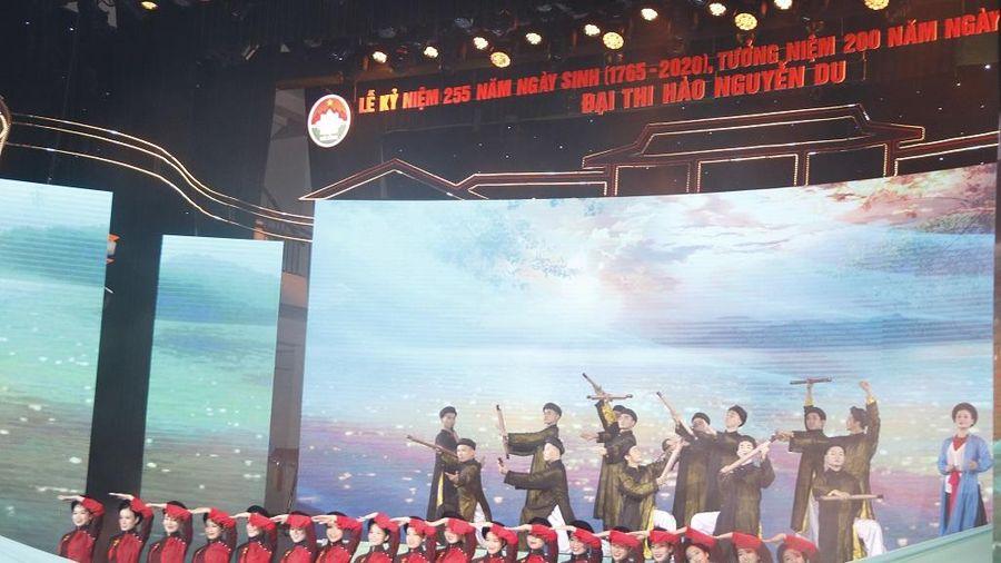 Tôn vinh và tưởng niệm Danh nhân văn hóa thế giới - Ðại thi hào dân tộc Nguyễn Du