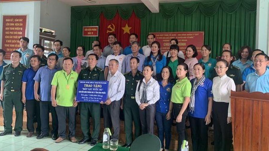 Nhiều hoạt động tuyên truyền về phân giới, cắm mốc trên địa bàn biên giới tỉnh Bình Phước