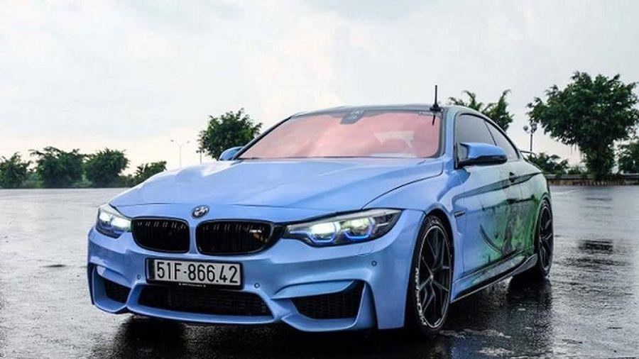BMW 428i độ M4 'kịch độc' hơn 1,5 tỷ ở Sài Gòn
