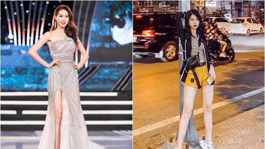 Đi thi Hoa hậu Việt Nam 2020, bạn gái cũ Trọng Đại gây chú ý