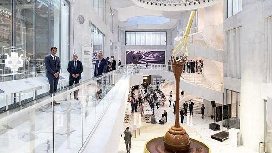 Khám phá bảo tàng socola độc nhất vô nhị trên thế giới