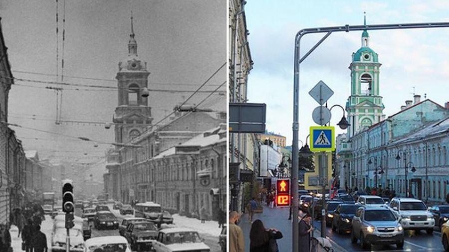 Kinh ngạc diện mạo thủ đô Moscow thay đổi 150 năm qua