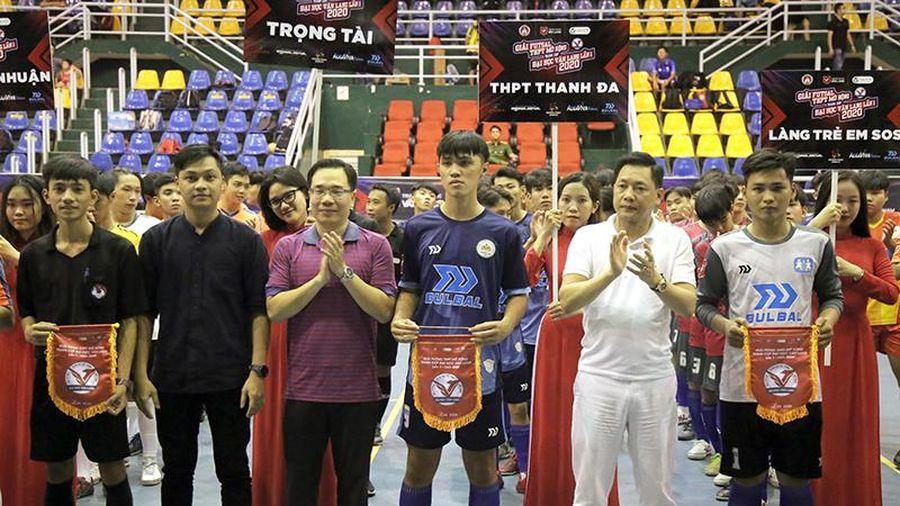 TPHCM: Khai mạc Giải Futsal học sinh THPT mở rộng