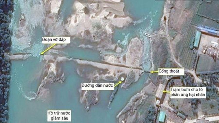 Vỡ đập gần khu phức hợp hạt nhân của Triều Tiên
