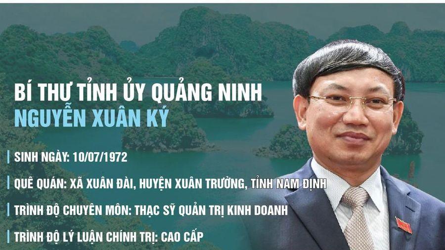 Cựu cán bộ Đoàn tái đắc cử Bí thư Tỉnh ủy Quảng Ninh