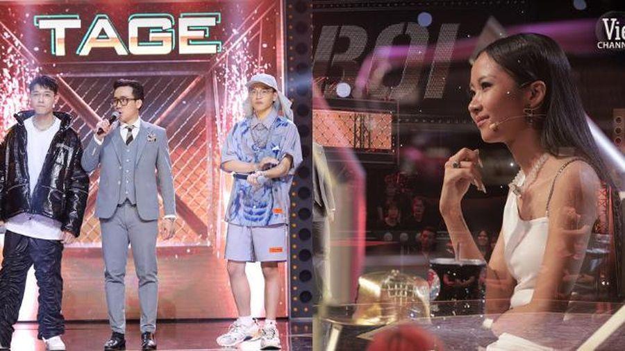 Suboi rơi nước mắt vì phải chia tay thí sinh tài năng ở Rap Việt