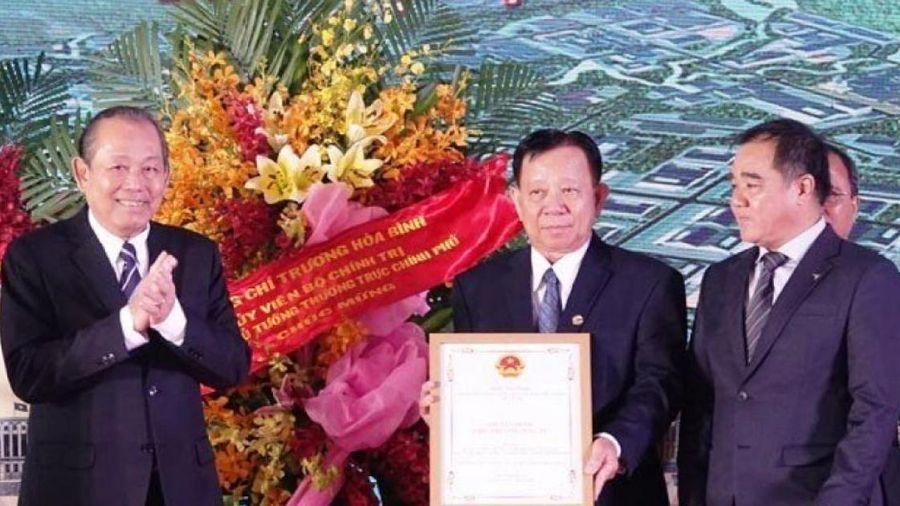 Phó Thủ tướng Trương Hòa Bình dự lễ khởi công KCN rộng hơn 1.400 ha