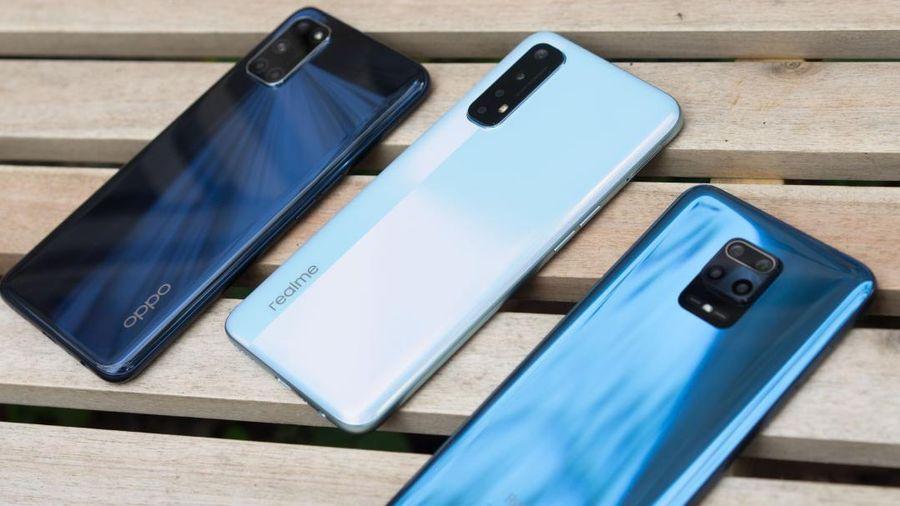 'So găng' bộ 3 smartphone tầm trung Realme 7, OPPO A92 và Redmi Note 9 Pro tại VN