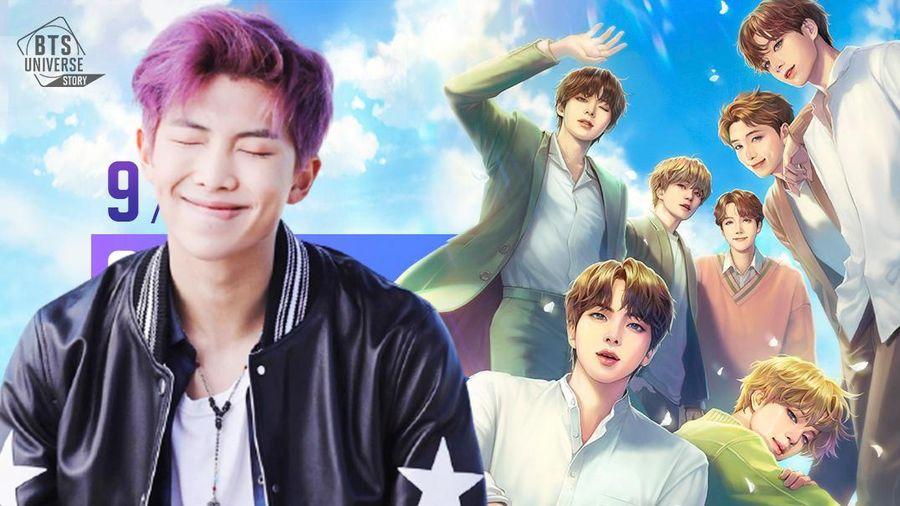 BTS Universe Story khiến thủ lĩnh RM 'mê đứ đừ' đến nỗi vi phạm quy tắc công ty
