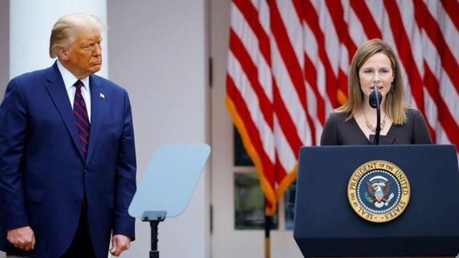 Tổng thống Mỹ Donald Trump đề cử nữ thẩm phán mới cho Tòa án Tối cao