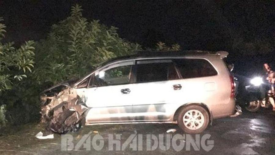 Hải Dương: Tai nạn giao thông nghiêm trọng, nhiều người bị thương nặng