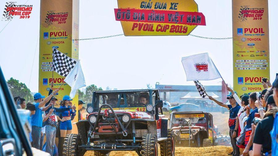 Tìm ra những nhà vô địch trong Giải đua ô tô địa hình PVOIL VOC 2020