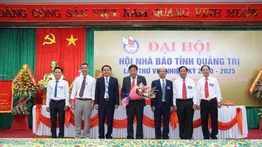 Nhà báo Trương Đức Minh Tứ tái đắc cử Chủ tịch Hội Nhà báo tỉnh Quảng Trị nhiệm kỳ mới
