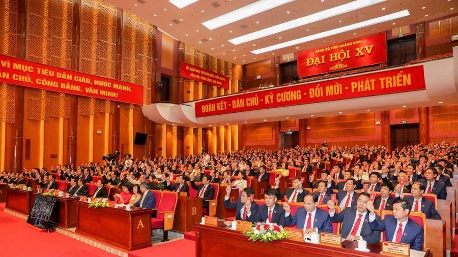Đại hội Đại biểu Đảng bộ tỉnh Quảng Ninh lần thứ XV thành công tốt đẹp