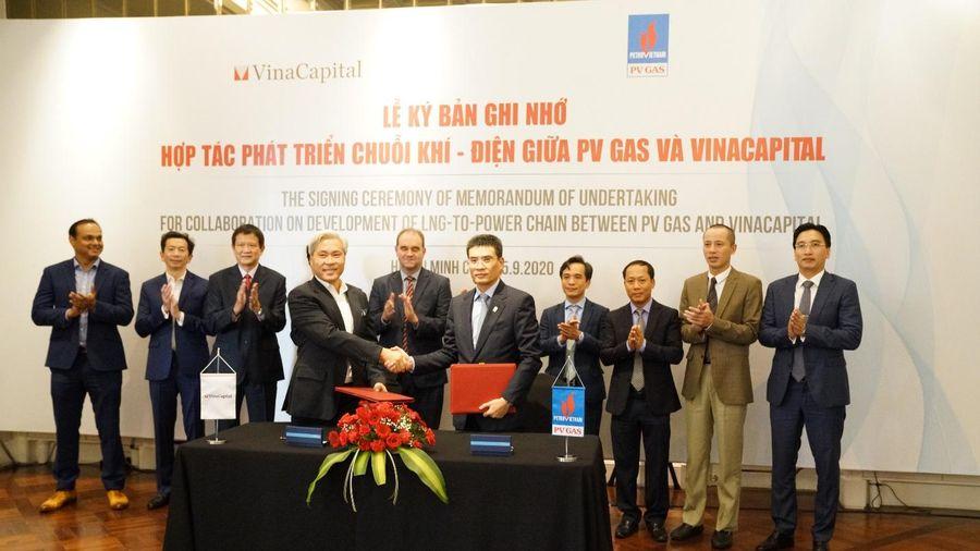 PV GAS và VinaCapital ký ghi nhớ về hợp tác phát triển chuỗi khí - điện